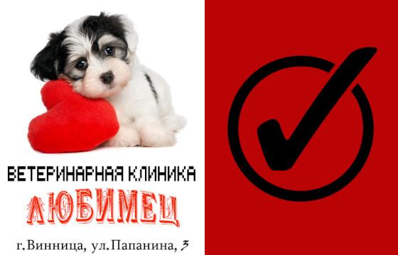 """Ветеринарная клиника """"Любимец"""" участвует в голосовании """"Народный бренд 2015"""" (Винница)"""