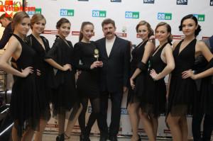 Награждение Народный бренд 2015 Винница